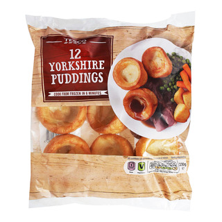 Tesco Frozen Yorkshire Puddings (Baked)