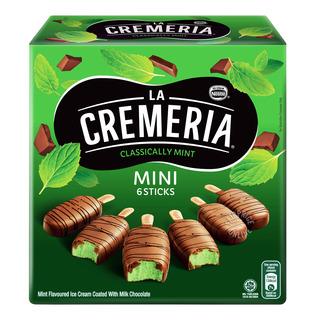 Nestle La Cremeria Mini Ice Cream Sticks - Classically Mint