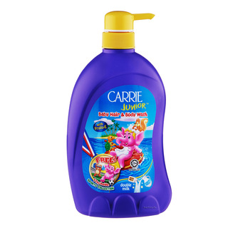 Carrie Junior Baby Hair & Body Wash - Double Milk