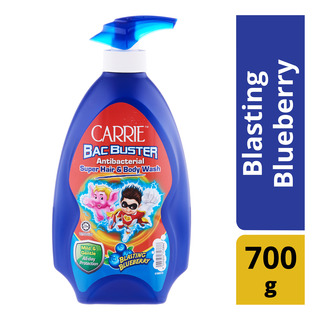 Carrie Bac Buster Super Hair & Body Wash - Blasting Blueberry