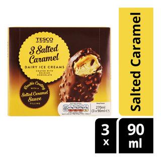 Tesco Dairy Ice Cream - Salted Caramel