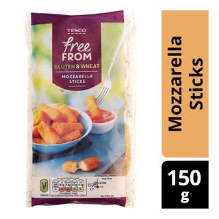 Tesco Free From Mozzarella Sticks