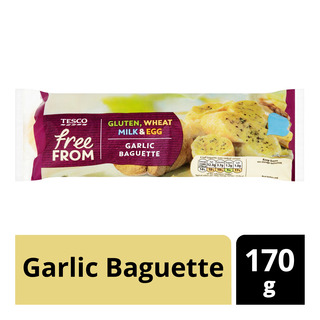 Tesco Free From Garlic Baguette
