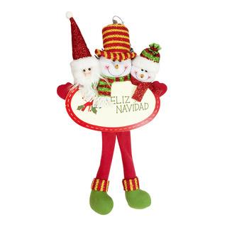 Christmas Hanging Ornament - Santa