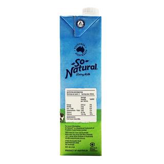 So Natural UHT Milk - Full Cream