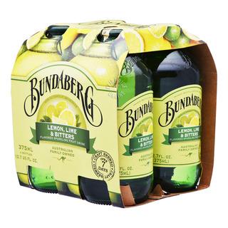 Bundaberg Sparkling Fruit Bottle Drink - Lemon,Lime&Bitters