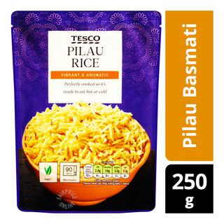 Tesco Instant Rice Pouch - Pilau Basmati