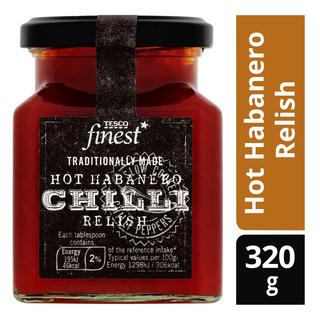 Tesco Finest Chili - Hot Habanero Relish