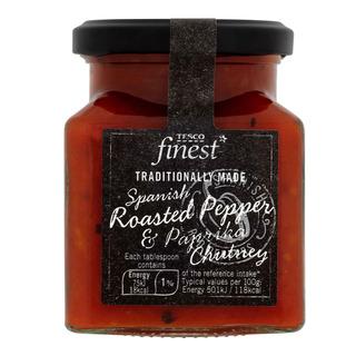 Tesco Finest Chutney - Spanish Roasted Pepper & Paprika