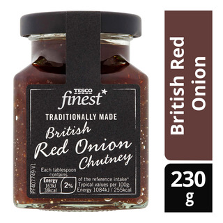 Tesco Finest Chutney - British Red Onion