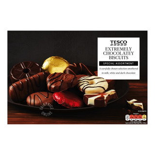 Tesco Assorted Biscuits - Chocolate