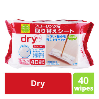 Watts Floor Wipes - Dry