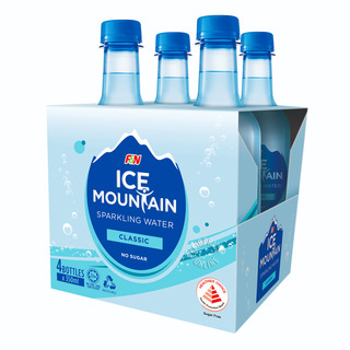 F&N Ice Mountain Sparkling Bottle Water - Classic