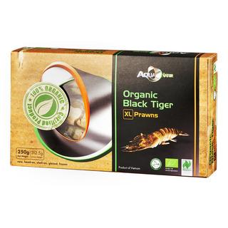 AquaNatur Organic Black Tiger Prawns - XL