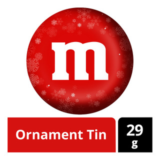 M&M's Ornament Tin