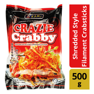 Kami Crazie Crabby Shredded Style Filament Crabsticks