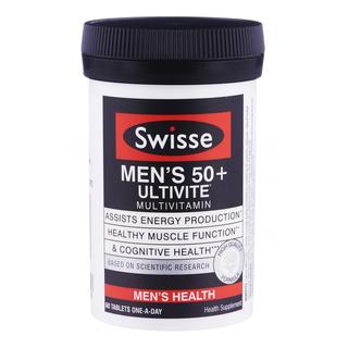 Swisse Multivitamin Supplement - Men's 50+ Ultivite