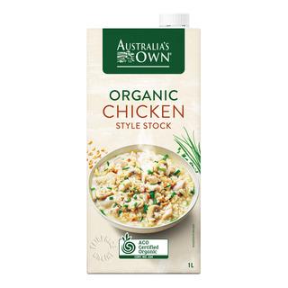 Australia's Own Organic Style Stock - Chicken