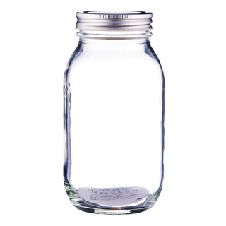 Imported Glass Jar with Lid - Assorted