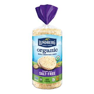 Lundberg Organic Rice Cakes - Brown Rice (Salt-Free)