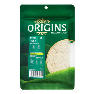Origins Healthfood Psyllium Husk 150g| FairPrice Singapore