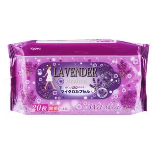 Kyowa Floor Wet Wpes - Lavender