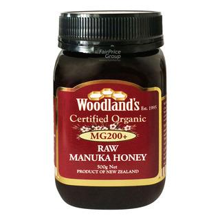 Woodland's Organic Raw Manuka Honey - MG 200+