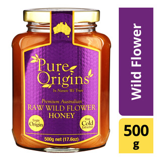 Pure Origins Organic Raw Honey - Wild Flower | FairPrice