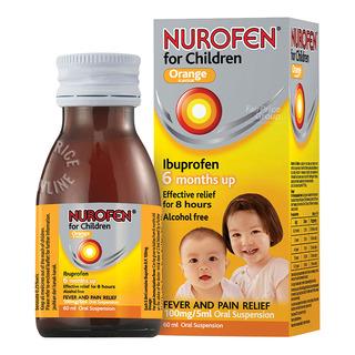 Nurofen for Children Oral Suspension - Orange