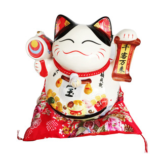 Imported Fortune Cat CNY Decoration - Drum