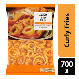 Tesco Frozen Curly Fries