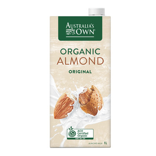 Australia's Own Organic Milk - Almond