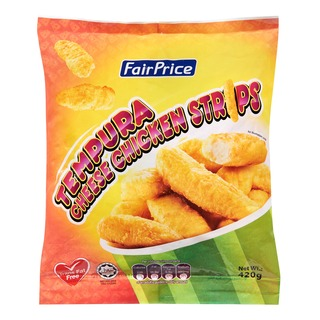FairPrice Chicken Strips - Tempura Cheese