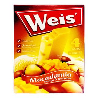 Weis Ice Cream - Macadamia Mango