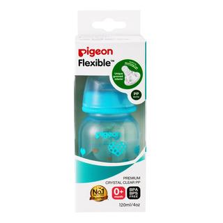Pigeon Flexible Nursing Bottle - PP (Blue)