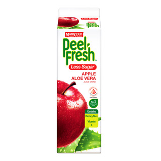 Marigold Peel Fresh Juice - Apple & Aloe Vera (Less Sugar)