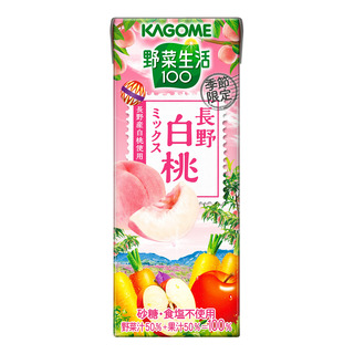Kagome Packet Mixed Juice - Nagano Peach