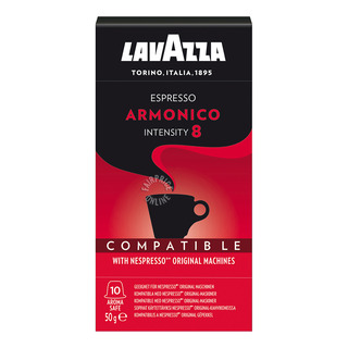 Lavazza Roasted Ground Coffee Capsules - Espresso Armonico