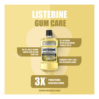 Listerine Zero Alcohol Mouthwash - Gum Care