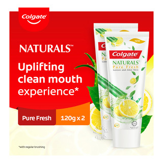 Colgate Naturals Anticavity Toothpaste - Pure Fresh
