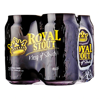 Royal Stout Can Beer