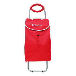 FairPrice Trolley with Bag - Red