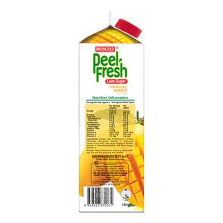 Marigold Peel Fresh Juice - Tropical Mango (Less Sugar)