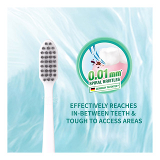 Darlie Sonic Clean Power Toothbrush Refill - SpiralCharcoal