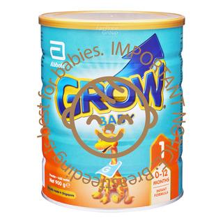 Abbott Grow Baby Infant Milk Formula - Step 1