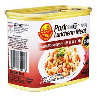 Golden Bridge Pork Luncheon Meat - Black Pepper