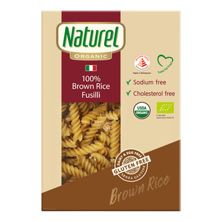Naturel Organic 100% Brown Rice Pasta - Fusilli