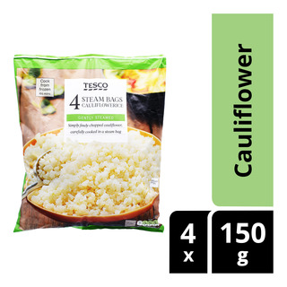 Tesco Steam Bags - Cauliflowerice