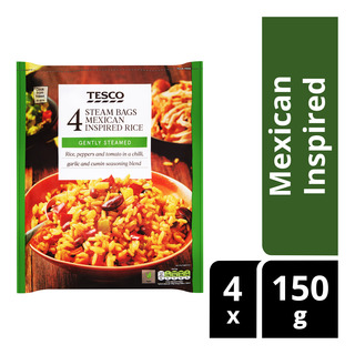 Tesco Steam Bags - Mexican Inspired Rice
