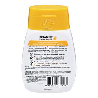 Betadine Natural Defense Hand Sanitizer - Manuka Honey
